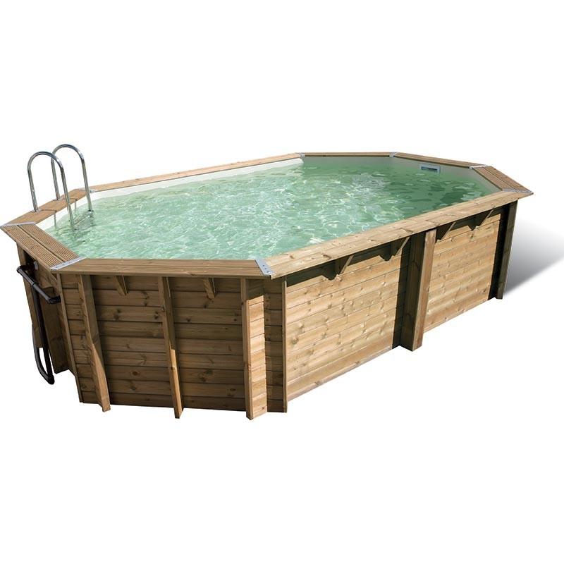 piscine bois lagon ubbink. Black Bedroom Furniture Sets. Home Design Ideas