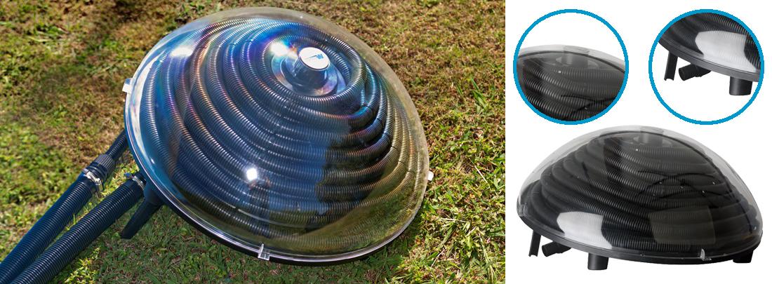 Dome solaire piscine d me de chauffage solaire pour for Avis dome chauffage solaire piscine