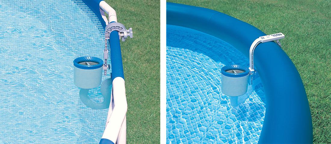 Skimmer de surface intex for Skimmer piscine hors sol intex