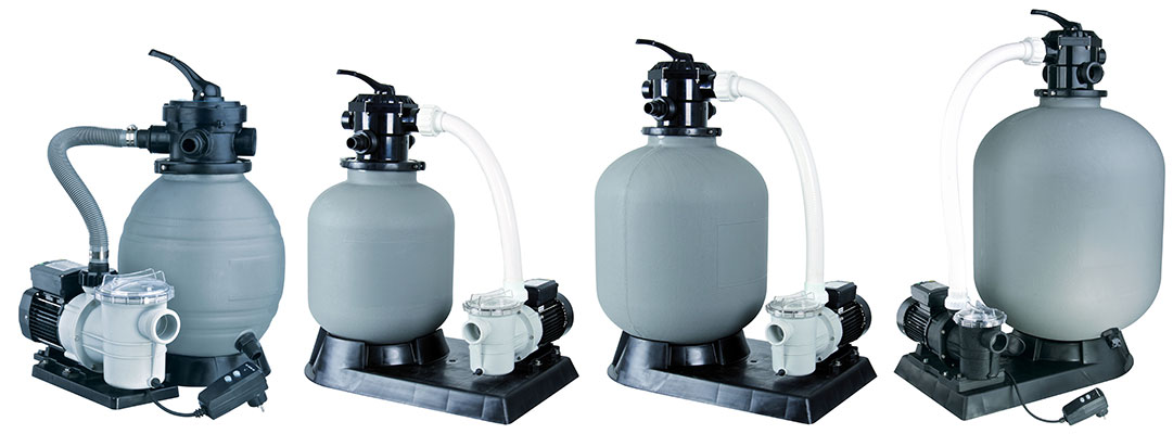 Platine de filtration sable ubbink for Platine filtration piscine