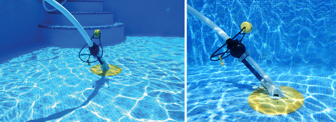 Robot de piscine derby for Branchement aspirateur piscine sur skimmer