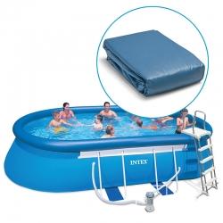 Liner pour piscine Intex Ellipse autoportante ovale