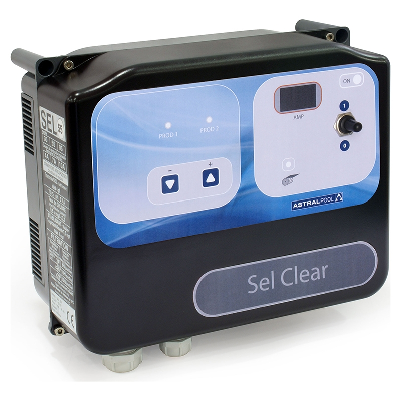 Astralpool Electrolyseur Astral Sel Clear Volume Jusqu'à 95 m3