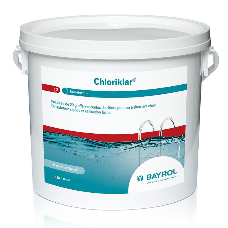 Chloriklar Bayrol - chlore choc