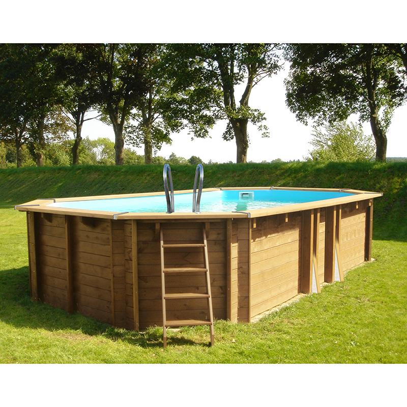 Construire piscine hors sol la premire ceinture est monte for Quelle est la meilleure piscine hors sol