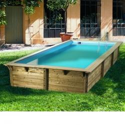 Piscine bois Sunwater 5,55 x 3,00 x h1,40m