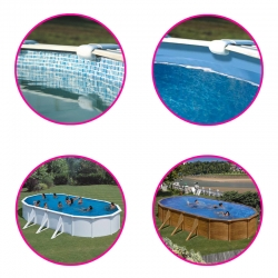 Liner pour piscine acier Gré ovale