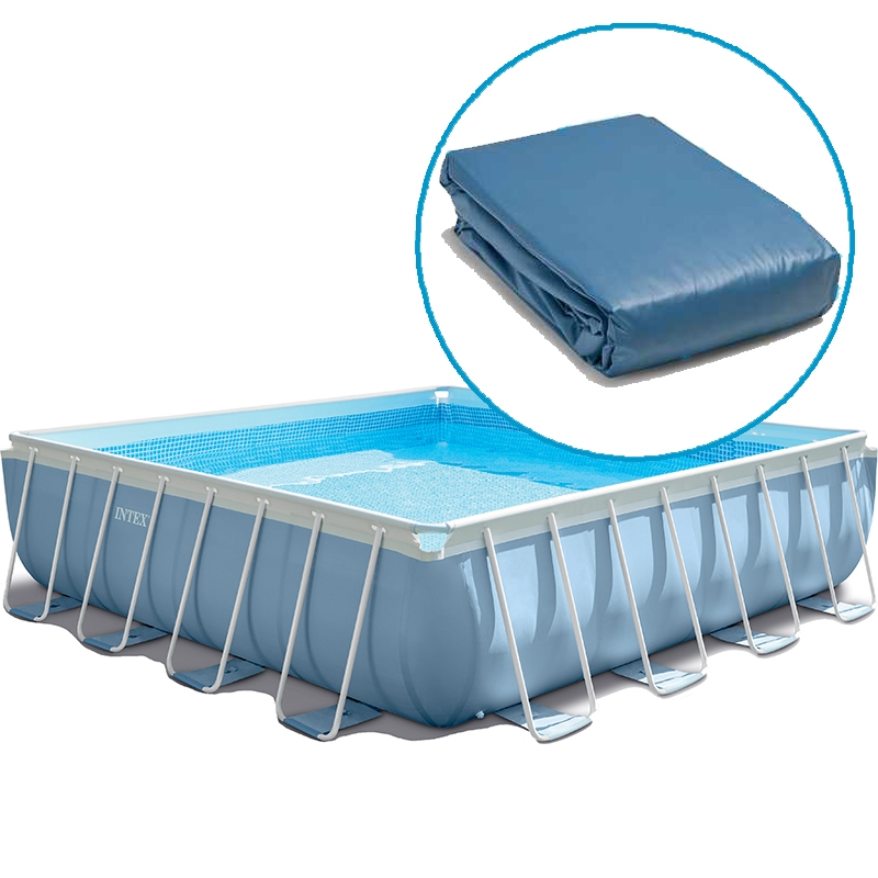 Liner pour piscine intex prism frame tubulaire carr e for Prix liner piscine intex