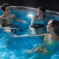 Projecteur pour piscine Intex sans fil