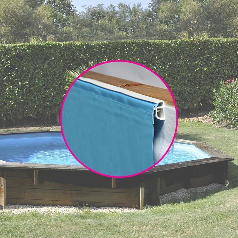 liner pour piscine bois sunbay octogonale bois sunbay. Black Bedroom Furniture Sets. Home Design Ideas