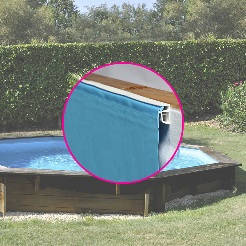Piscine en bois leroy merlin interesting excellent - Piscine liner ou carrelage ...