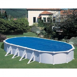 Bâche à bulles pour piscine acier Gré