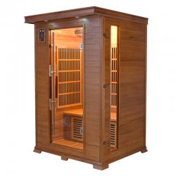 France Sauna Infrarouge Luxe 2 places