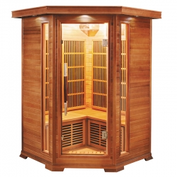 Sauna Infrarouge Luxe 2-3 places