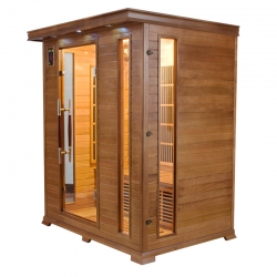 France Sauna Infrarouge Luxe 3 places