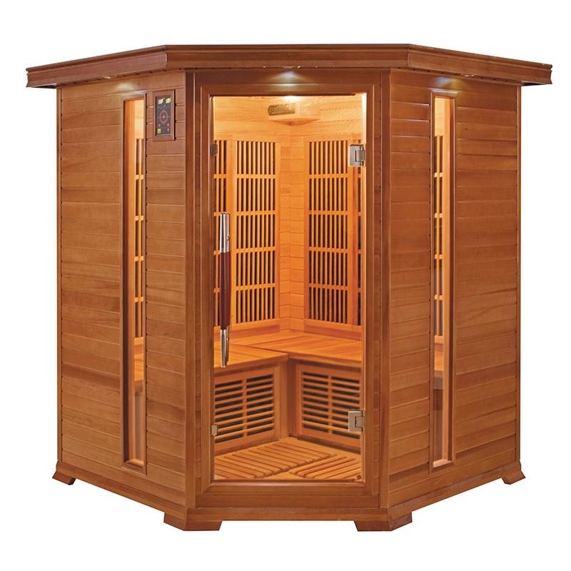 Sauna Infrarouge Luxe 3-4 places