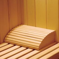 Appui tête pour sauna