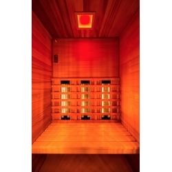 Sauna Multiwave 2 places