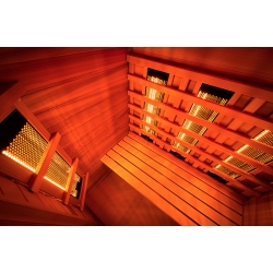 Sauna Poolstar Infrarouge Multiwave 2 places