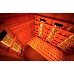 Sauna Poolstar Infrarouge Multiwave 3 places