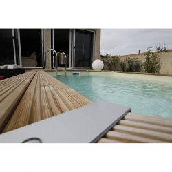 Piscine à ossature bois Azura 7,50 x 4,00 x h1,30m