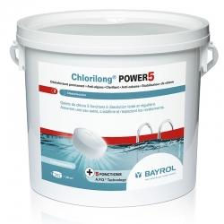 Chlorilong Power 5 Bayrol - chlore lent multiactions