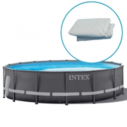 Liner piscine intex ultra frame tubulaire ronde for Liner piscine intex