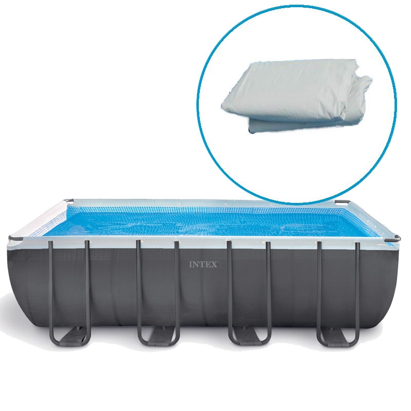 Liner piscine intex ultra silver tubulaire rectangulaire for Piscine intex silver ultra