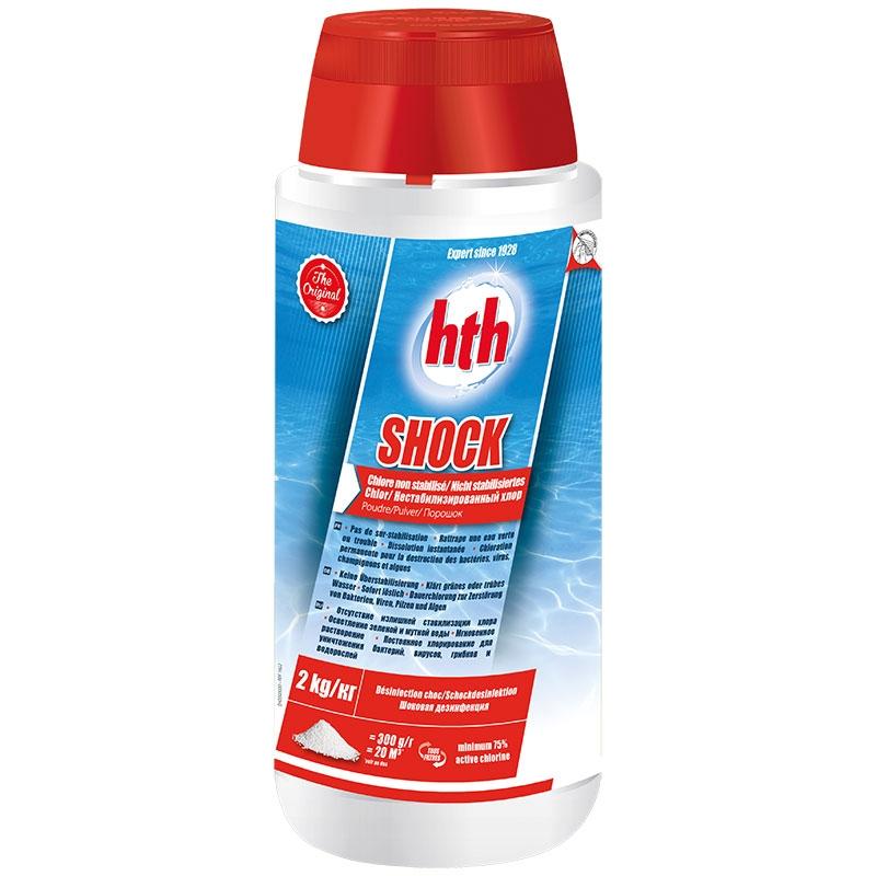HTH Shock - chlore choc non stabilisé 2 kg