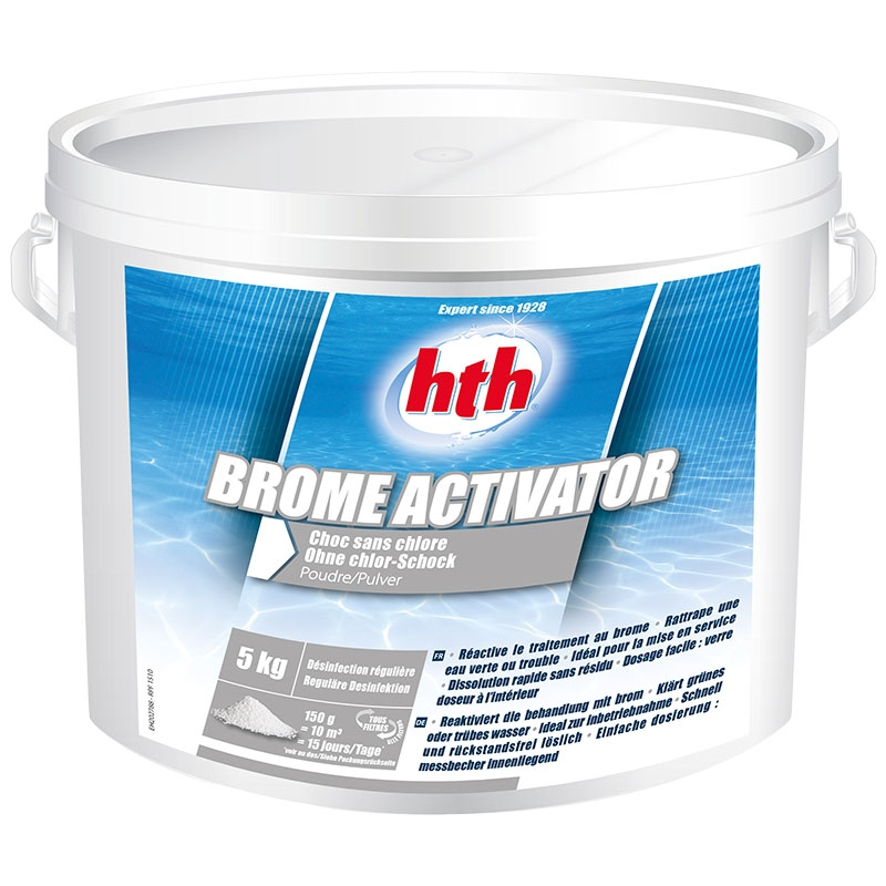HTH Brome activator - brome choc 5 kg