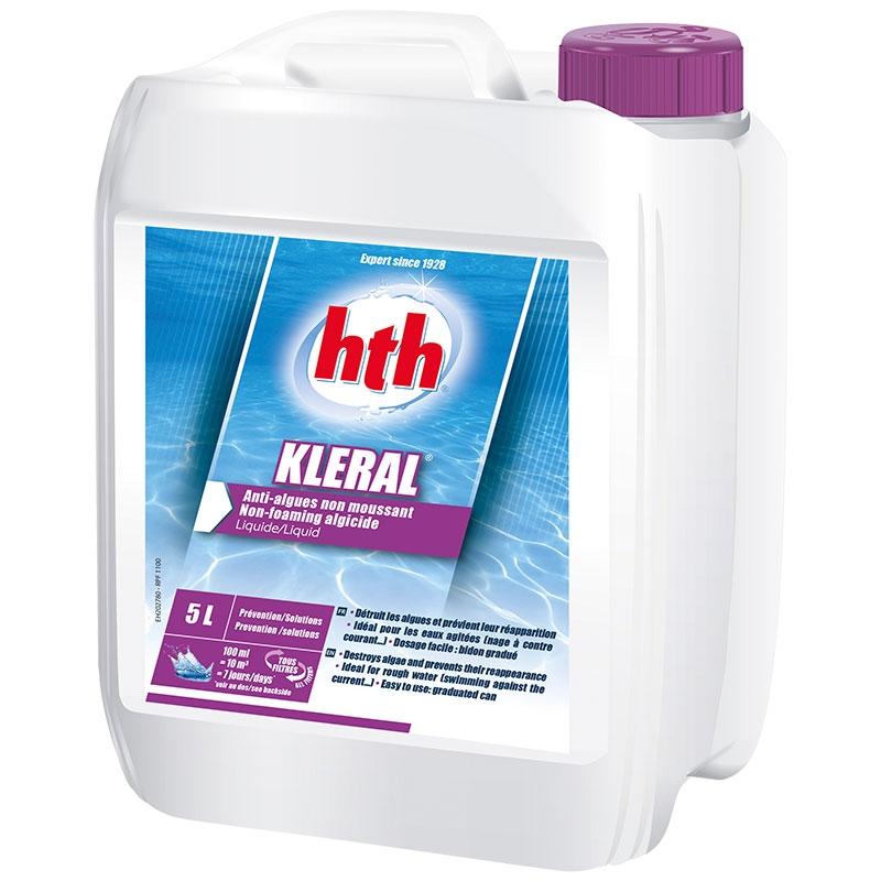 Hth kleral anti algues non moussant chimie hth bayrol - Anti algues piscine sulfate de cuivre ...