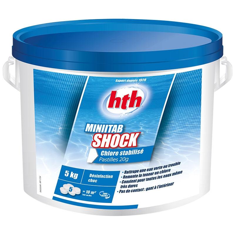 HTH Minitab Shock - chlore choc 5 kg