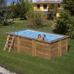 Piscine bois Marbella 4,00 x 2,50 x  h1,19m
