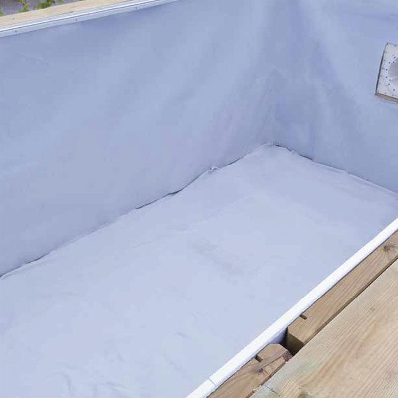 Feutre de protection pour fond ou paroi sp cial piscine bois feutre ubbink pour sol 7 00 x h2 - Protection pour piscine enterree ...