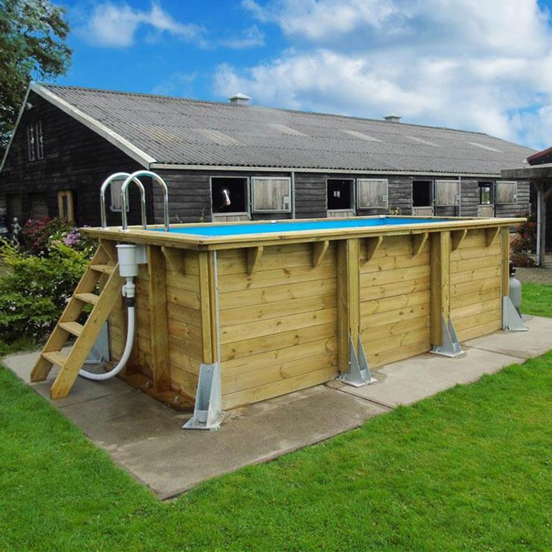 Piscine bois urban pool ubbink la piscine la mieux for Piscinas de madera baratas