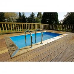 Piscine bois Ubbink Urban Pool 4,50 x 2,50 x h1,40m