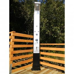 Douche solaire Design 40L avec rince pieds