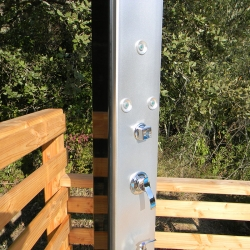 Douche solaire Design 40L avec brumisateur