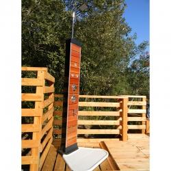 Douche solaire Wood 35 litres