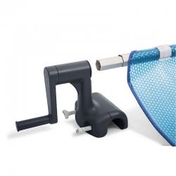 Enrouleur Intex de bâche à bulles pour piscine tubulaire