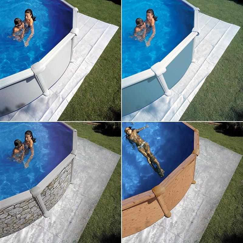 Tapis de sol pour piscine Gré