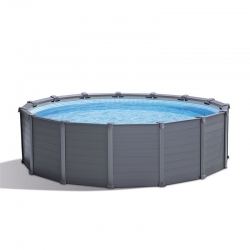Piscine tubulaire Intex Graphite 4,17 x h1,09m