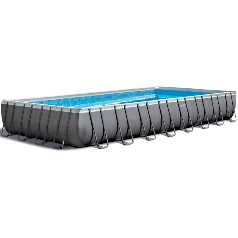 Piscine tubulaire Intex Ultra Frame XTR 9,75 x 4,88 x h1,32m