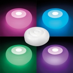 Pouf géant 68697 LED multicolore Intex