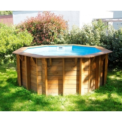 Piscine bois Ubbink Sunwater 3,60 x h1,20m