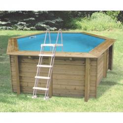Piscine bois Ubbink Sunwater 4,10 x h1,20m