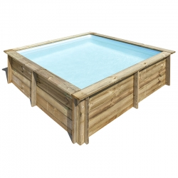 Piscine bois City 2,25 x 2,25 x h0,68m