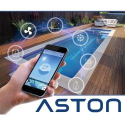 Pompe à chaleur Aston contrôle Wifi