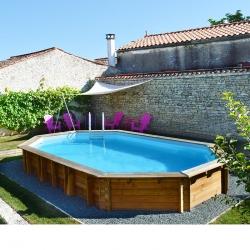 Piscine bois Lavender 5,70 x 3,95 x h1,27m