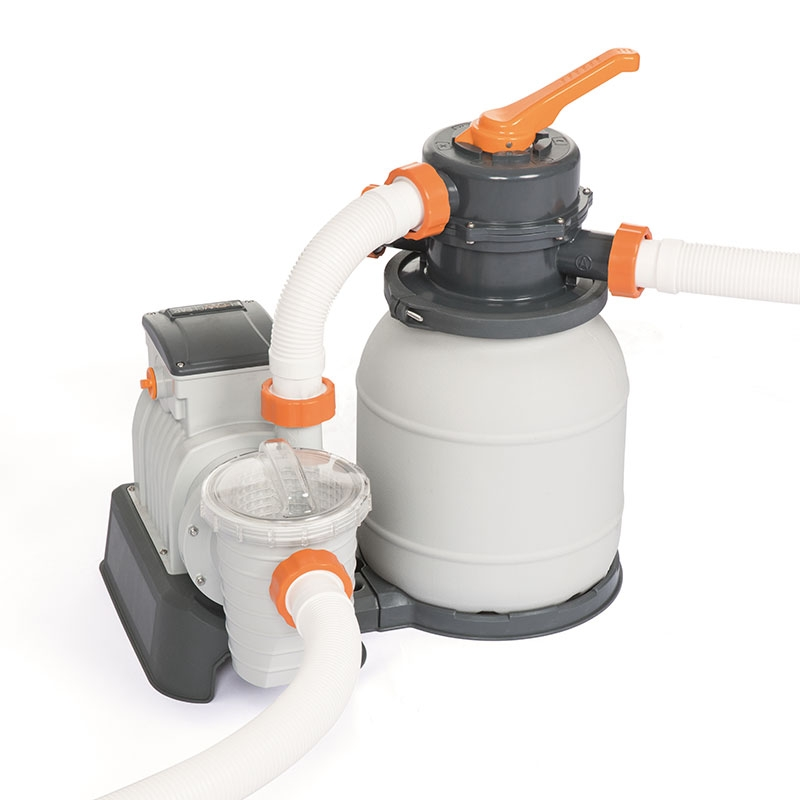 Platine de filtration a sable Flowclear Bestway 6m3/h